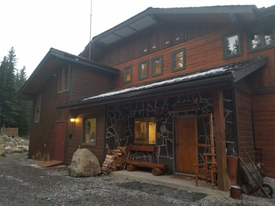Mount Engadine, Kanada: The main lodge