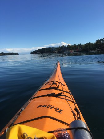 Majestic Ocean Kayaking: Pretty views all around