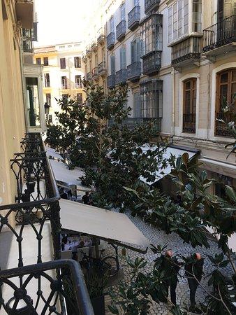 Hotel Molina Lario: nach Hinten in die Gasse