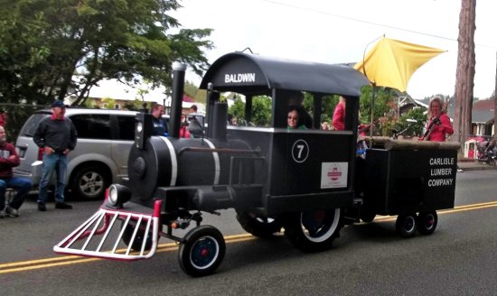 Centralia, WA: King Agriculture Museum parade float 2017