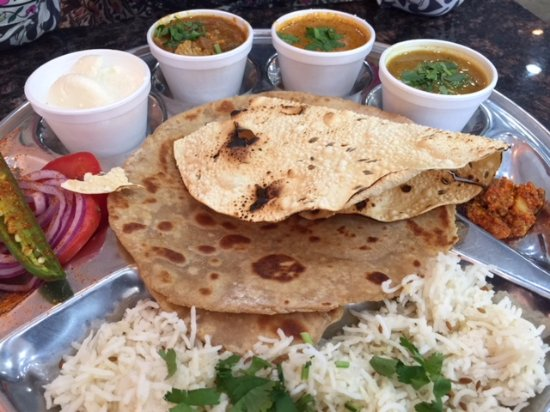 Honest Indian Restaurant Punjabi Thali