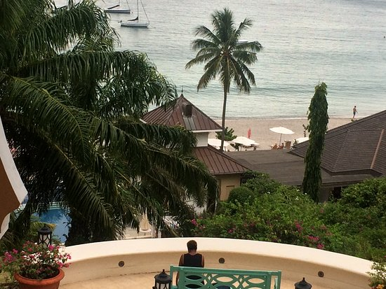 Cap Estate, St. Lucia: View from Spa area
