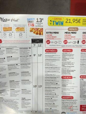 pizza hut carte livraison photo8.   Picture of Pizza Hut Cannes   Tripadvisor