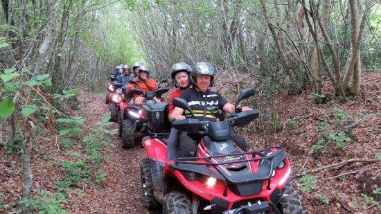 Barban, โครเอเชีย: Istra Adventure Quand Safari