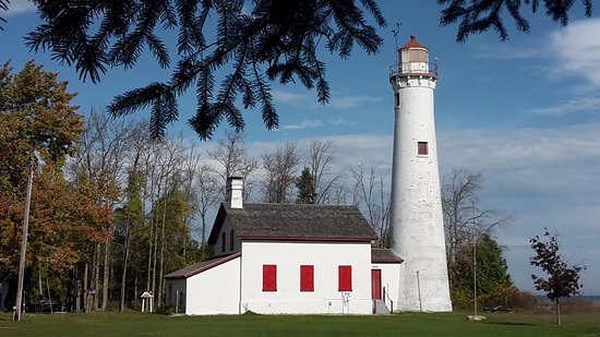 Harrisville, MI: lighthouse