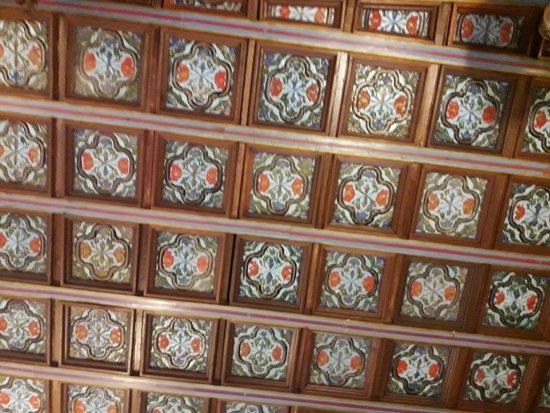 Hotel Convento La Gloria: Un soffitto