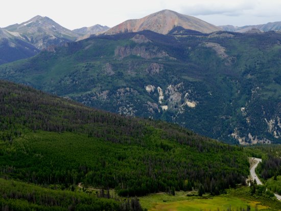 Creede, CO: Windy Point Overlook