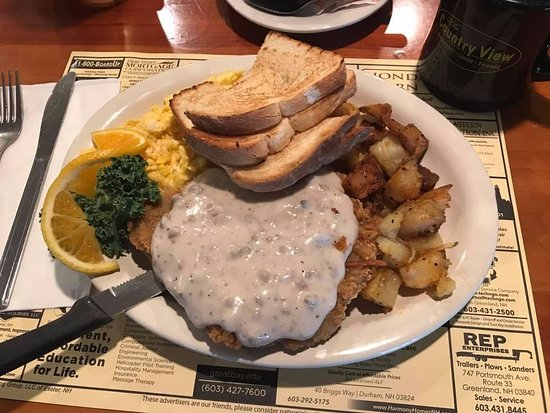Greenland, NH: Country Fried Steak