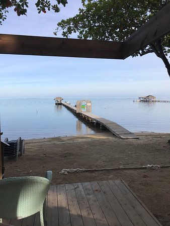 Sandy Bay, Honduras: View from the patio