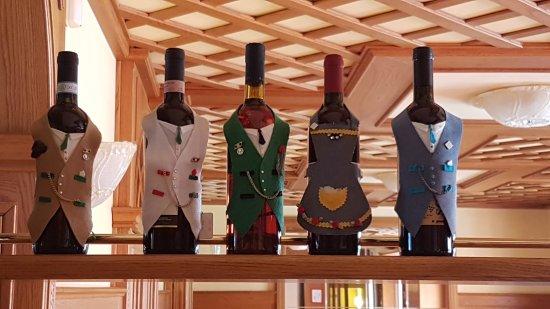 Serina, Italy: Dettaglio sala da pranzo