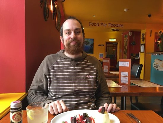 Guisborough, UK: Alex thought so and so did I from the couple of spoonfuls I cadged off him.