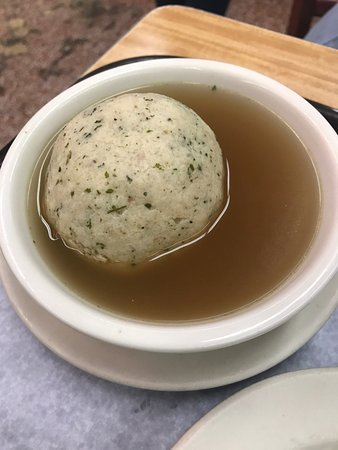 Matzo Ball Soup Picture Of Katz S Deli New York City Tripadvisor
