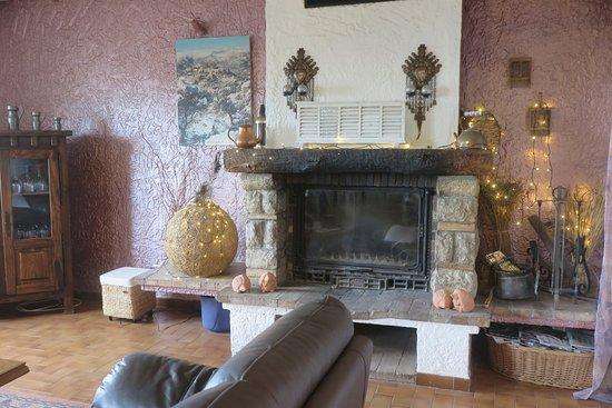 Aspremont, França: Saletta adiacente alla sala colazioni