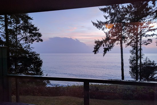 Point-No-Point Resort: View from Cabin #5