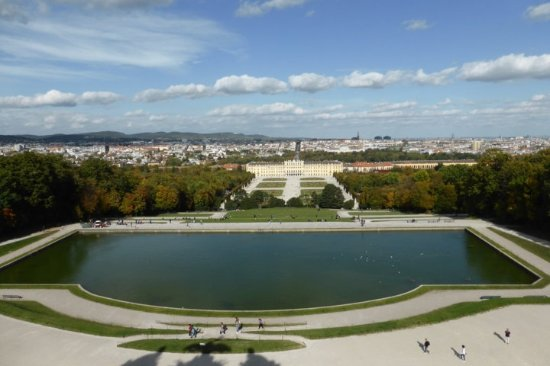 panorama dalla terrazza - Bild von Gloriette, Wien - TripAdvisor
