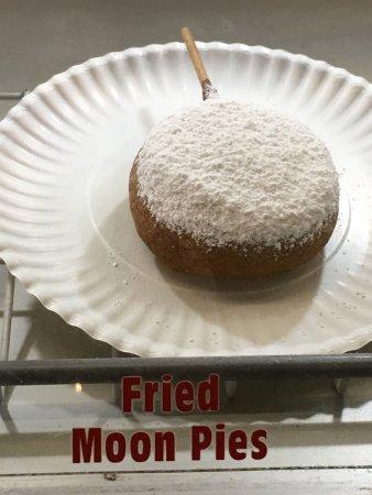 Sweetwater Flea Market: Yes - it's a moon pie.