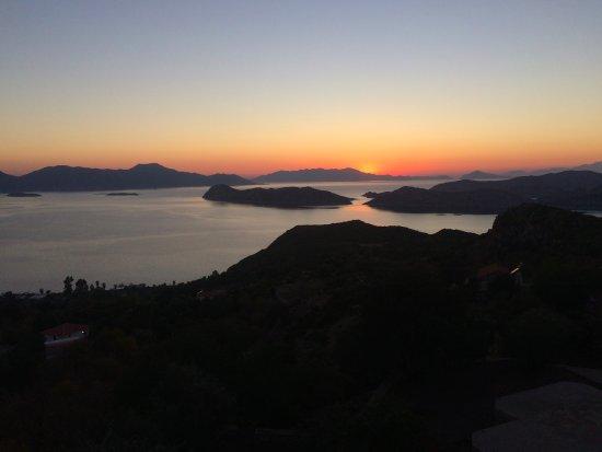 Sogut, ตุรกี: sunset...