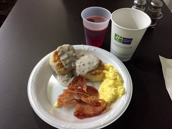 Okmulgee, OK: breakfast at Holiday Inn Express