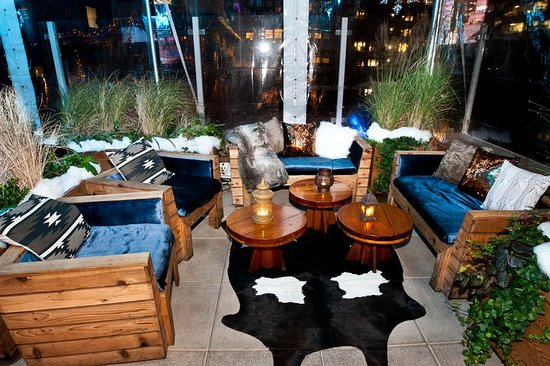 Sanctuary Hotel New York: Haven Rooftop (Winter) at Sanctuary Hotel NY