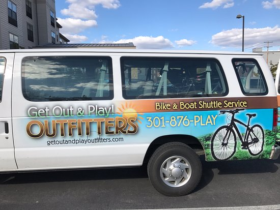 October 2017 Cumberland MD to Pittsburgh PA Bicycle Shuttle