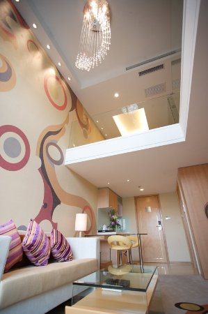 Loft Suite at Dorsett Shanghai