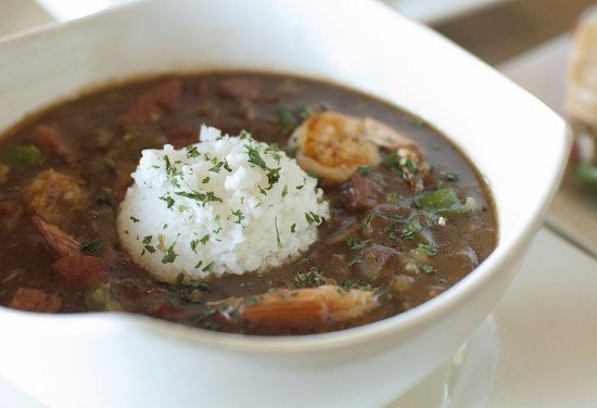 Chino Hills, CA: It's a chilly gloomy day, dream about the Gumbo at The Boiler to get warmed up!