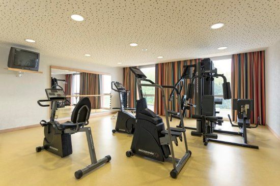 Lully, Zwitserland: Fitness Room