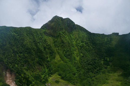 Vulkan-Kraterwanderung in St. Kitts