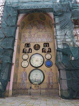 Astronomical Clock: 整修中