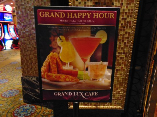 Grand Lux Cafe Vegas Happy Hour