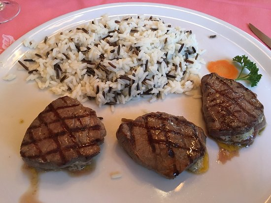 Veltlinerkeller : Ottima carne alla griglia!