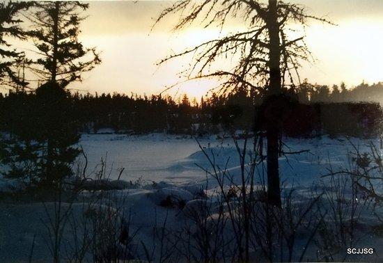 Manitoba, Canada: Winter view
