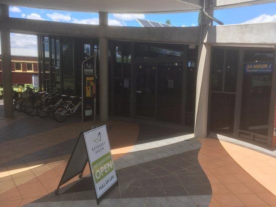Bathurst, Australia: Sign