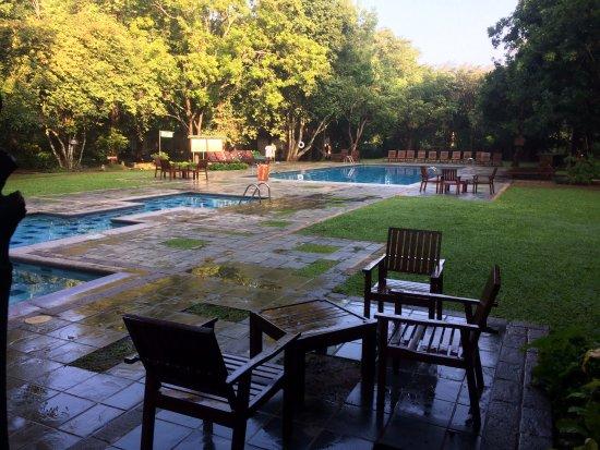 Hotel Sigiriya: After a downpour, still beautiful
