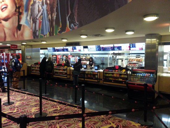 Concession Stand At AMC River East 21