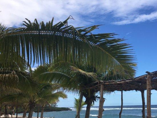 Foui, Tonga: Beach view