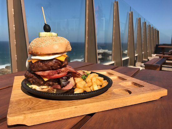 Margate, South Africa: Biker Burger (Bike Week Promo)