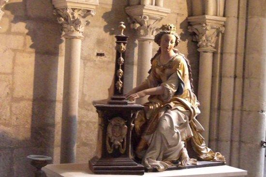 Cathédrale de Saint-Julien de Mans : La Vierge