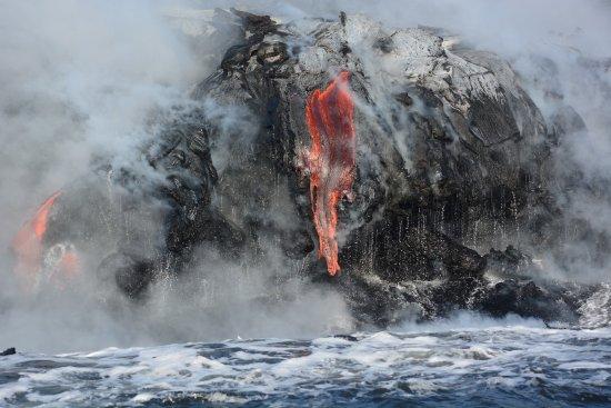 Pahoa, Hawaï: Lava flow
