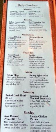 Norridge, IL: comfort food specials