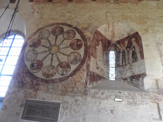 Kempley, UK: Wall paintings St Mary's Kempley