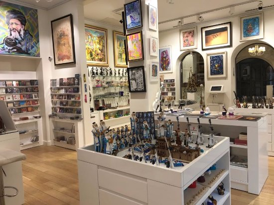 ‪Art & Music Gallery and Gift Shop, Kikar Hamusica Jerusalem‬