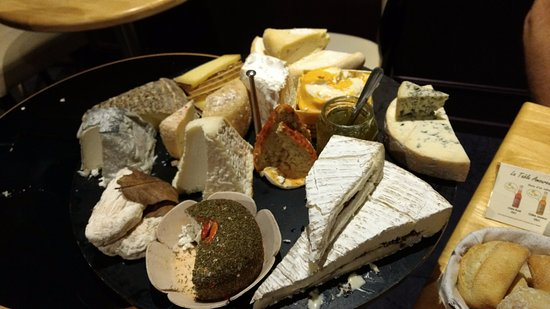 Plateau De Fromage Picture Of Anna S La Table Amoureuse Reims