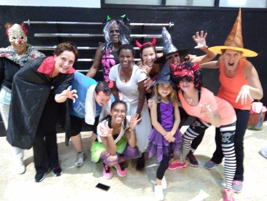 la salle de sport bruno coach zumba halloween 2017