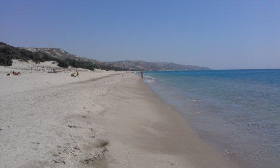 Xerokambos (Exotic Beach): MARE DUNE E FORESTA DI CEDRI