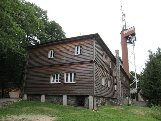 Lookout tower and Korab hut