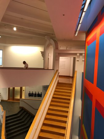 Williams College Museum of Art: The Sol Lewitt murals bring color and art to a building that is interesting in and of itself. Th