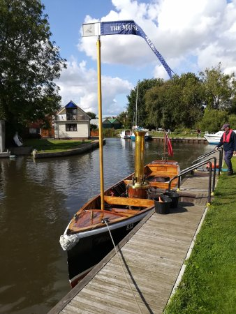 Stalham, UK: Steam boat 'Falcon'