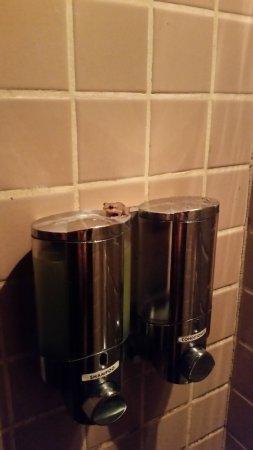 Dragonfly Ranch - Healing Arts Center: Dusche mit süßem kleinen Frosch