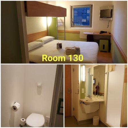Hotel ibis budget Birmingham Airport: Room 130
